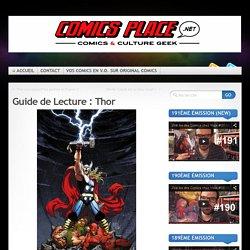 Guide de Lecture : Thor