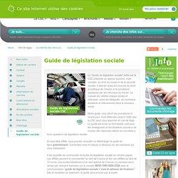 Guide de législation sociale_CSC