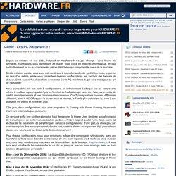 Guide : Les PC HardWare.fr !
