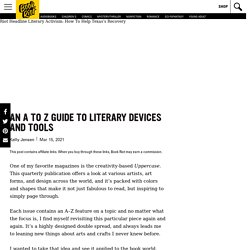 An A to Z Guide to Literary Devices and Tools
