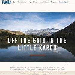 Guide to the Little Karoo, South Africa