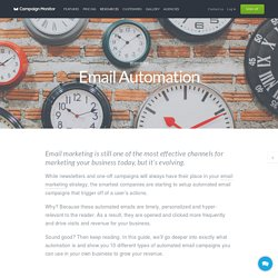 Guide to Email Marketing Automation