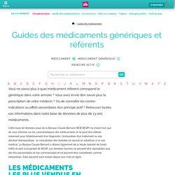 Guide des médicaments génériques