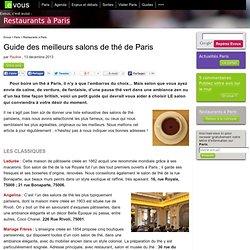 Aide la creation pearltrees for Meilleurs salons de the paris