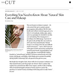 A Guide to Natural Makeup & Skin Care