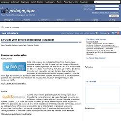 Le Guide 2011 du web pédagogique : Espagnol