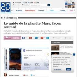 Le guide de la planète Mars, façon routard