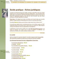 Guide pratique: Des Cévennes et des Hommes