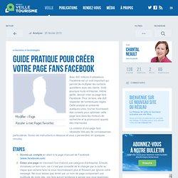 » Guide pratique pour créer votre page fans Facebook