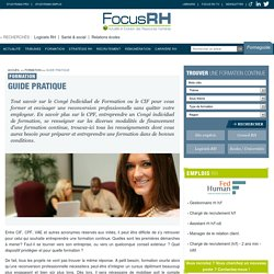 Guide pratique - Focus RH