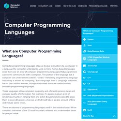 Guide to Programming Languages