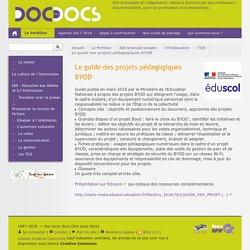 Le guide des projets pédagogiques BYOD