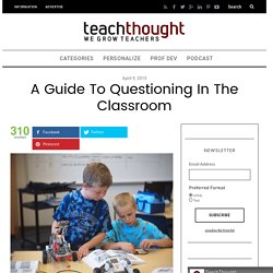 A Guide to questioning by teachthought