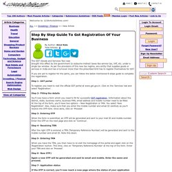 Step By Step Guide To Gst Registration Of Your Business