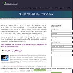 Guide des Réseaux Sociaux