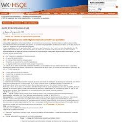 Guide du responsable HSE