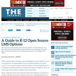 A Guide to K-12 Open Source LMS Options
