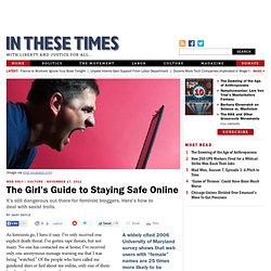 The Girl's Guide to Staying Safe Online