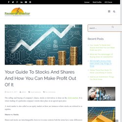 Effective Ways To Make Profit In Stock Market