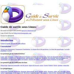 Guide de Survie du Débutant sous Linux