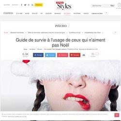 Guide de survie à l'usage de ceux qui n'aiment pas Noël