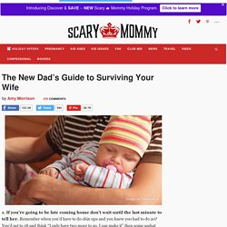 New Dad survivial guide