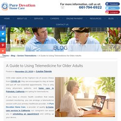 A Guide to Using Telemedicine for Older Adults