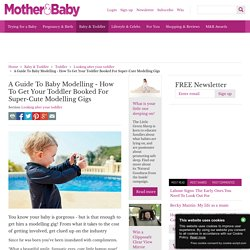 A Guide To Baby Modelling