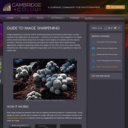 Guide to Image Sharpening