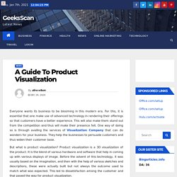 A Guide To Product Visualization