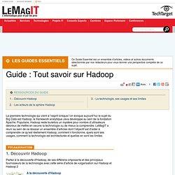 Guide : Tout savoir sur Hadoop