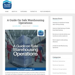 A Guide On Safe Warehousing Operations