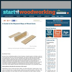 A Guide to the Wayward Ways of Wood Grain