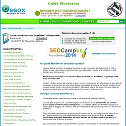 Guide Wordpress par seox