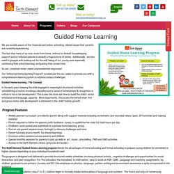 Guided Home Learning - Best play school in gurgaon