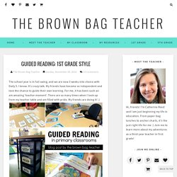 1st Grade Style - The Brown Bag Teacher