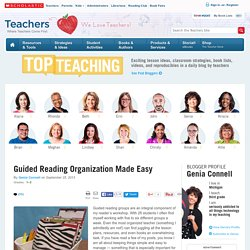 Guided Reading Organization Made Easy