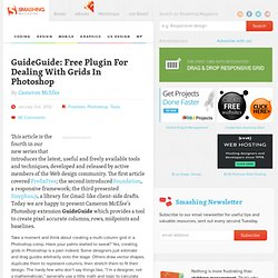 GuideGuide: Free Plugin For Dealing With Grids In Photoshop