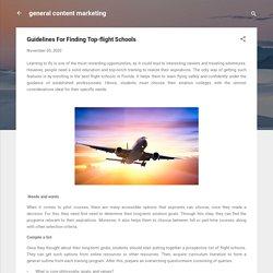 Guidelines For Finding Top-flight Schools