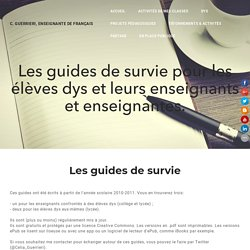 Guides de survie