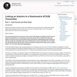 guides:linkingarduinotontx2 [UKHAS Wiki]