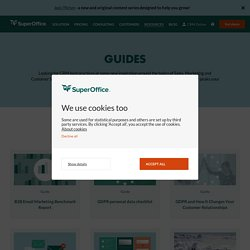 CRM Guides and White papers by SuperOffice