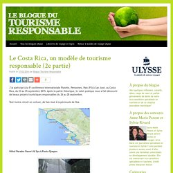 Blogue du Tourisme responsable