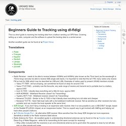 guides:tracking_guide [UKHAS Wiki]