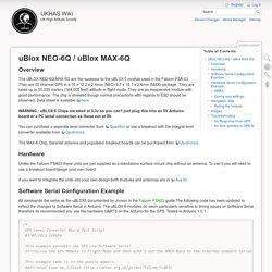 guides:ublox6 [UKHAS Wiki]