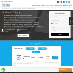 Guidewire Corporate Training, Certification - Excelr