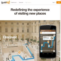 GuidiGO - Discover or create guided tours for iPhone iPad and Android