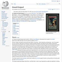Grand Guignol