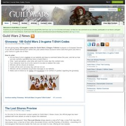 Guild Wars 2 Journal : News, Guides, Forums