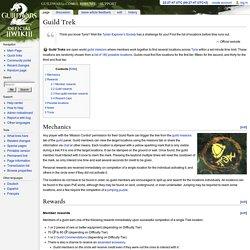 Guild Trek - Guild Wars 2 Wiki (GW2W)